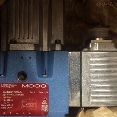 MOOG穆格伺服阀D663-4007