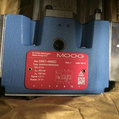 穆格MOOG伺服阀D661-4651现货