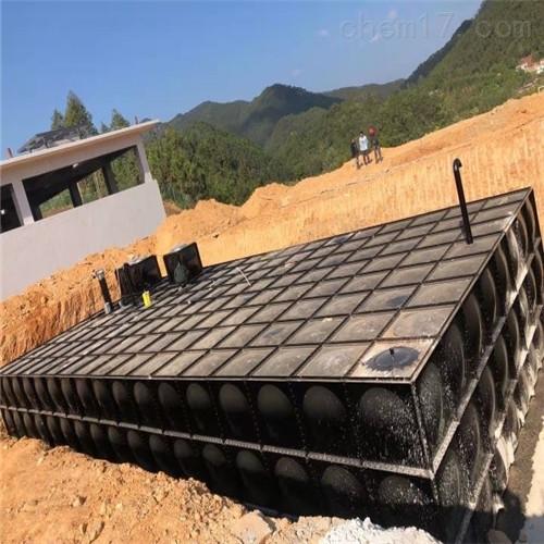 无浮sw大模块地埋水箱技术方案