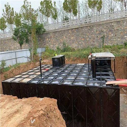 sw装配式箱泵一体化厂家出图