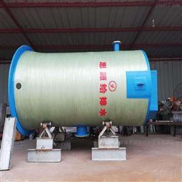 污水一体化预制泵站改变传统方式3米