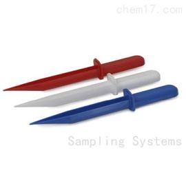 Sampling SteriWare 8284Samplingshop HACCP FDA粉状固体蓝杯形粉铲