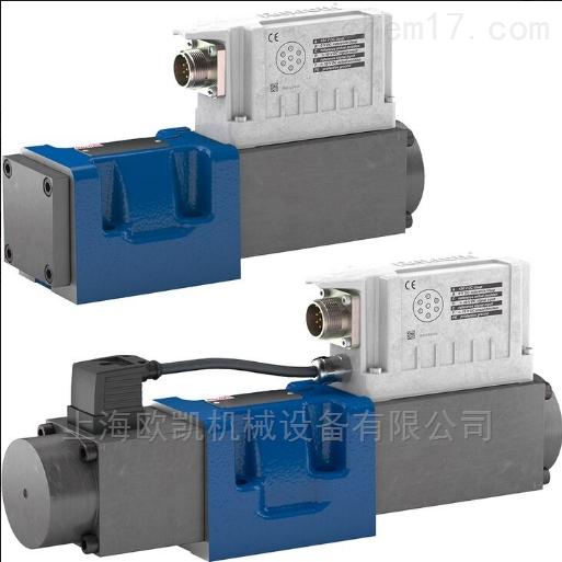 力士乐电磁阀带电气位置反馈和集成电子元件