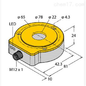 RI360P0-QR24M0-IOLX2-H114TURCK非接触式编码器