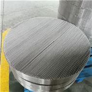 CY700型单层/双层丝网波纹填料性能对比