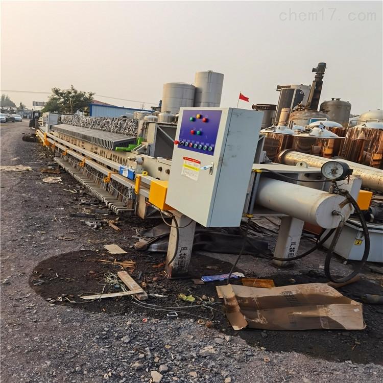 供应二手污泥脱水自动板框压滤机