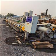 50平方150平方二手印染污水压滤机处理