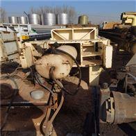 55平方100平方闲置转让二手污泥脱水用压滤机