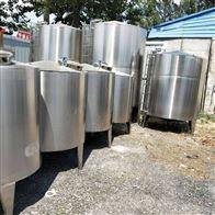 二手大型储罐 卧式化工不锈钢储罐回收