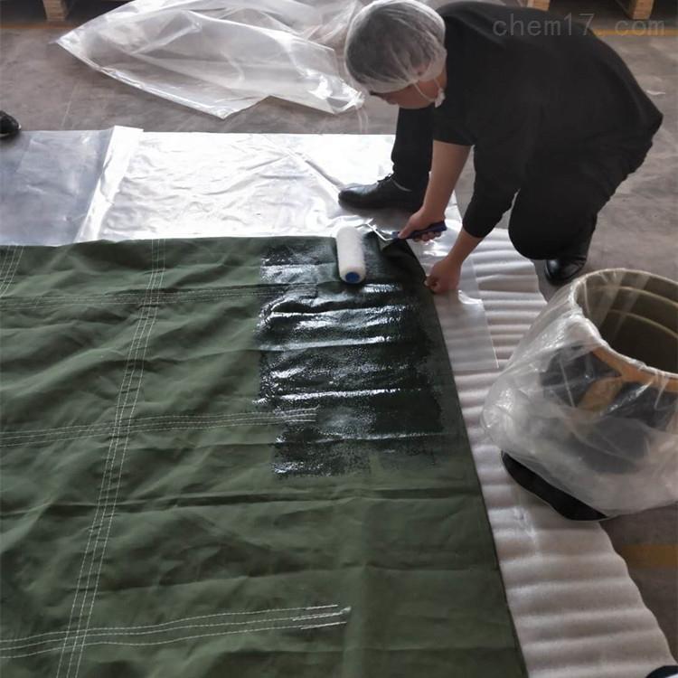 防渗漏沥青袋涂覆硅胶