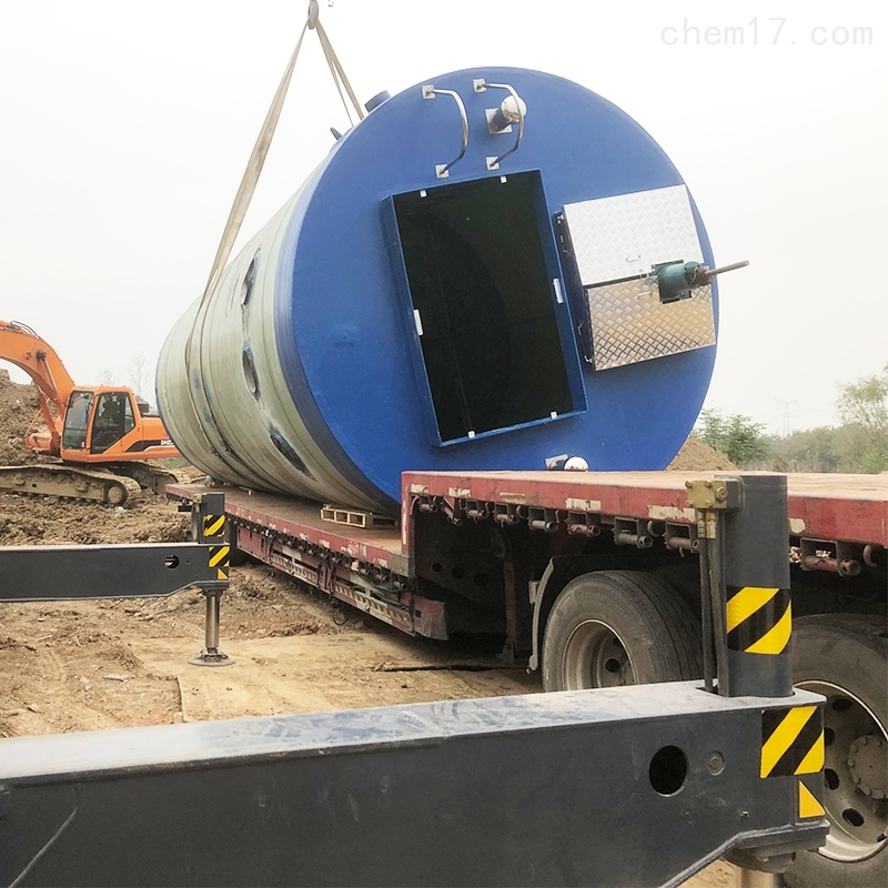 扬州地埋式一体化预制泵站施工过程