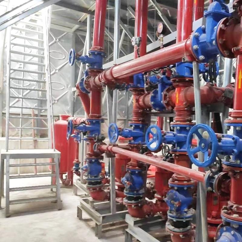 南京抗浮地埋式一体化消防泵站