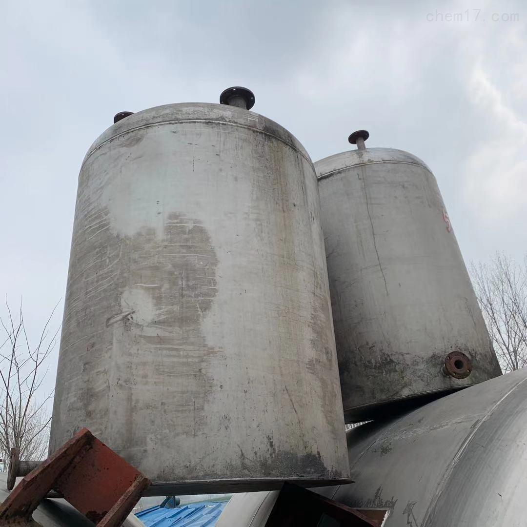 二手不锈钢立式卧式压力封头储罐