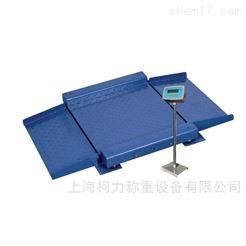 上海柯力DCS-2T电子小地磅,低台面地磅称,称重显示电子地磅