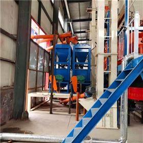 ZG1200硫氧镁板制板机 平模轻质隔墙板设备 生产线