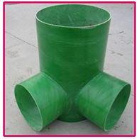 按需定制红昭玻璃钢检查井水管检修口