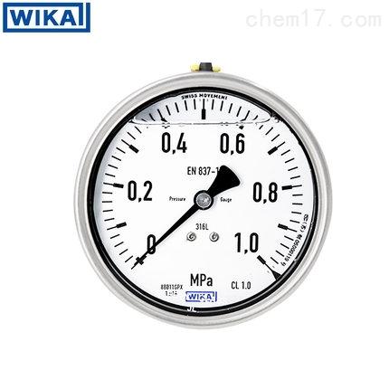 WIKA压力表螺纹安装全不锈钢量大价优现货