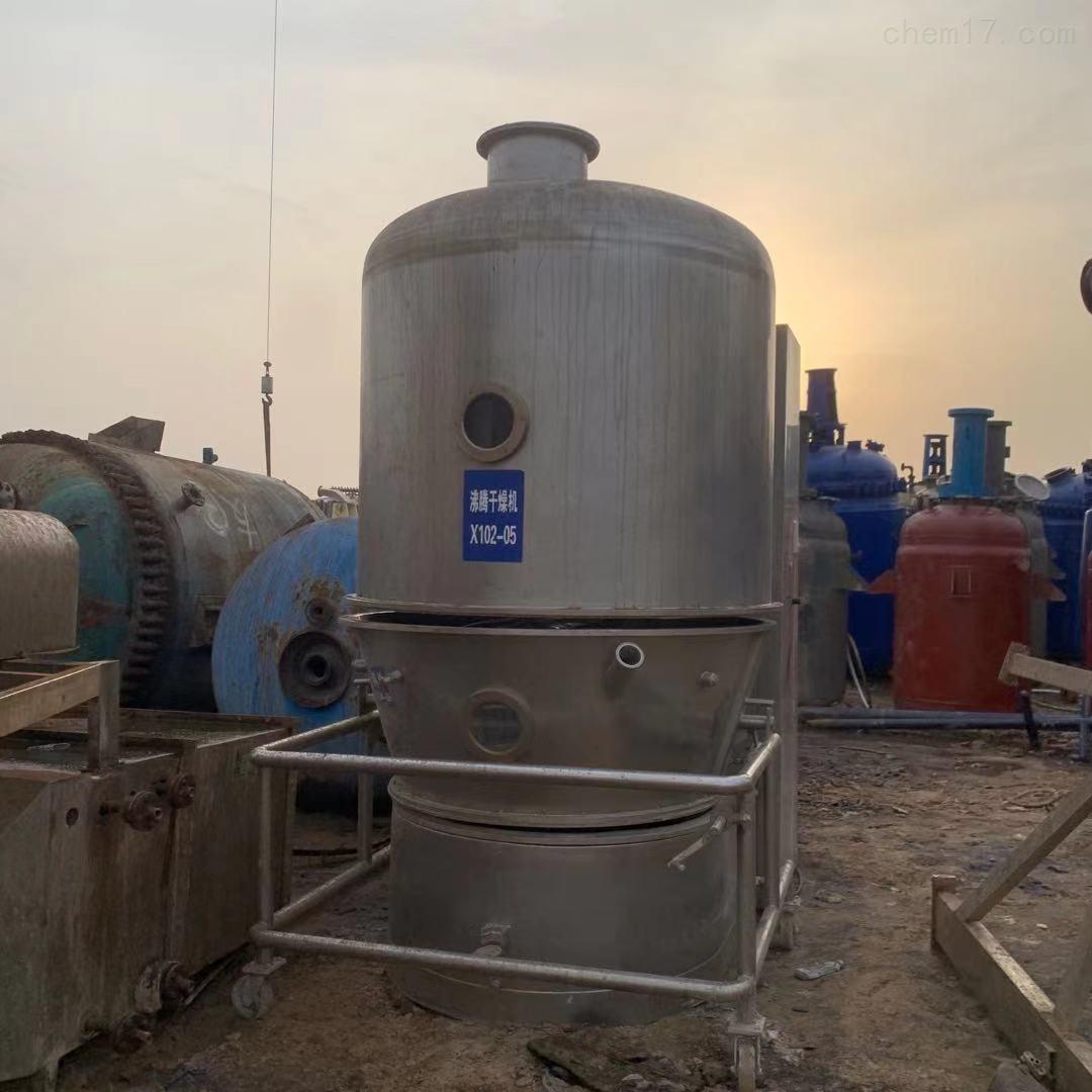 二手350型高效沸腾干燥机