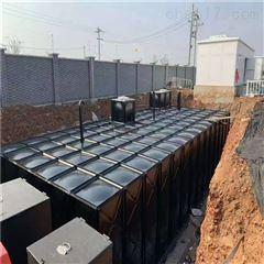 地埋装配式复合不锈钢水池箱体组成