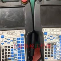 FANUC维修保养FANUC机器人示教器启动进不了系统界面修理