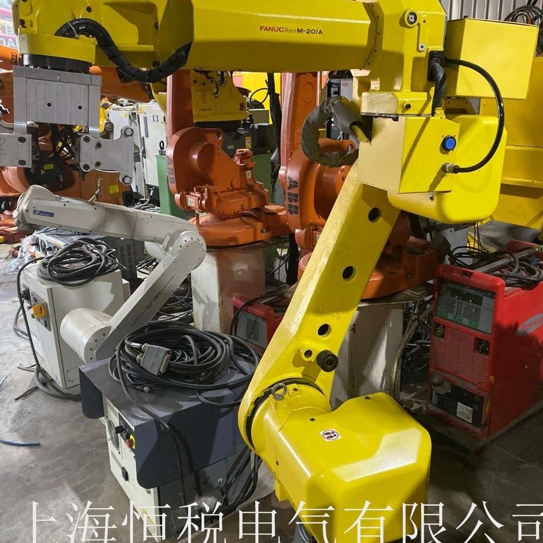 FANUC机器人示教器开机不能进入程序维修