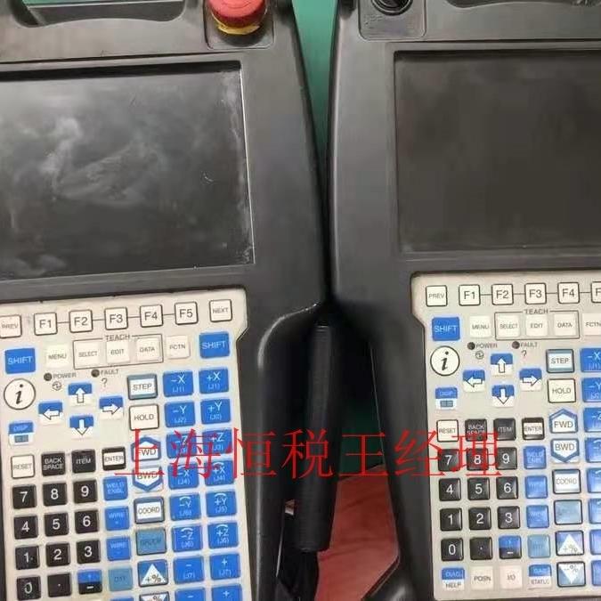 FANUC机器人示教器上电屏幕不显示画面修理