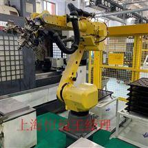 FANUC现场修理FANUC机器人示教器开机无法启动故障修理