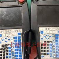 FANUC机器人示教器启动屏幕白屏状态维修