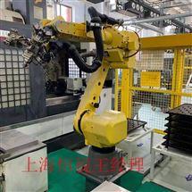 FANUC维修保养发那科机器人示教器开机进不去系统修理厂家