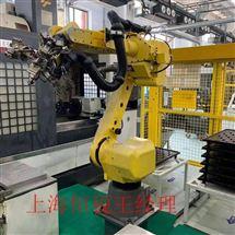 FANUC维修保养发那科机器人示教器开机无法进入系统修理