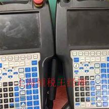 FANUC维修保养发那科机器人示教器进不了操作系统界面维修