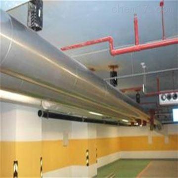 楼顶中央空调保冷管道铝皮保温施工价格