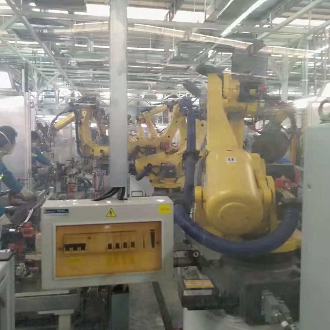 FANUC机器人示教器开机面板显示蓝屏维修