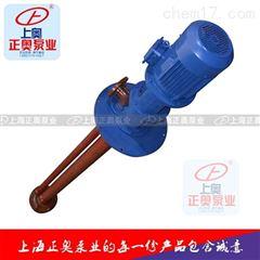 正奥泵业25WSY-30型耐腐玻璃钢立式液下泵