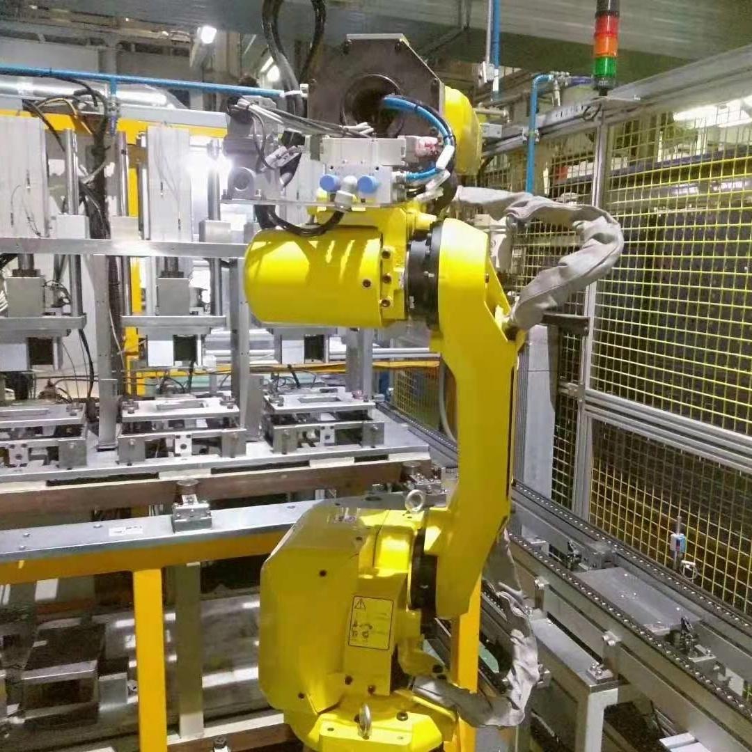 发那科机器人示教器开机停在初始化界面维修