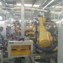 FANUC维修保养发那科机器人示教器开机停在启动界面不动