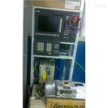 西门子840D无法进入加工界面维修
