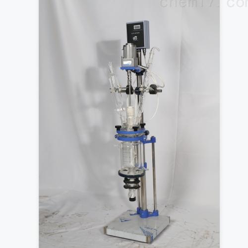 秋佐科技双层玻璃反应釜-3L小型