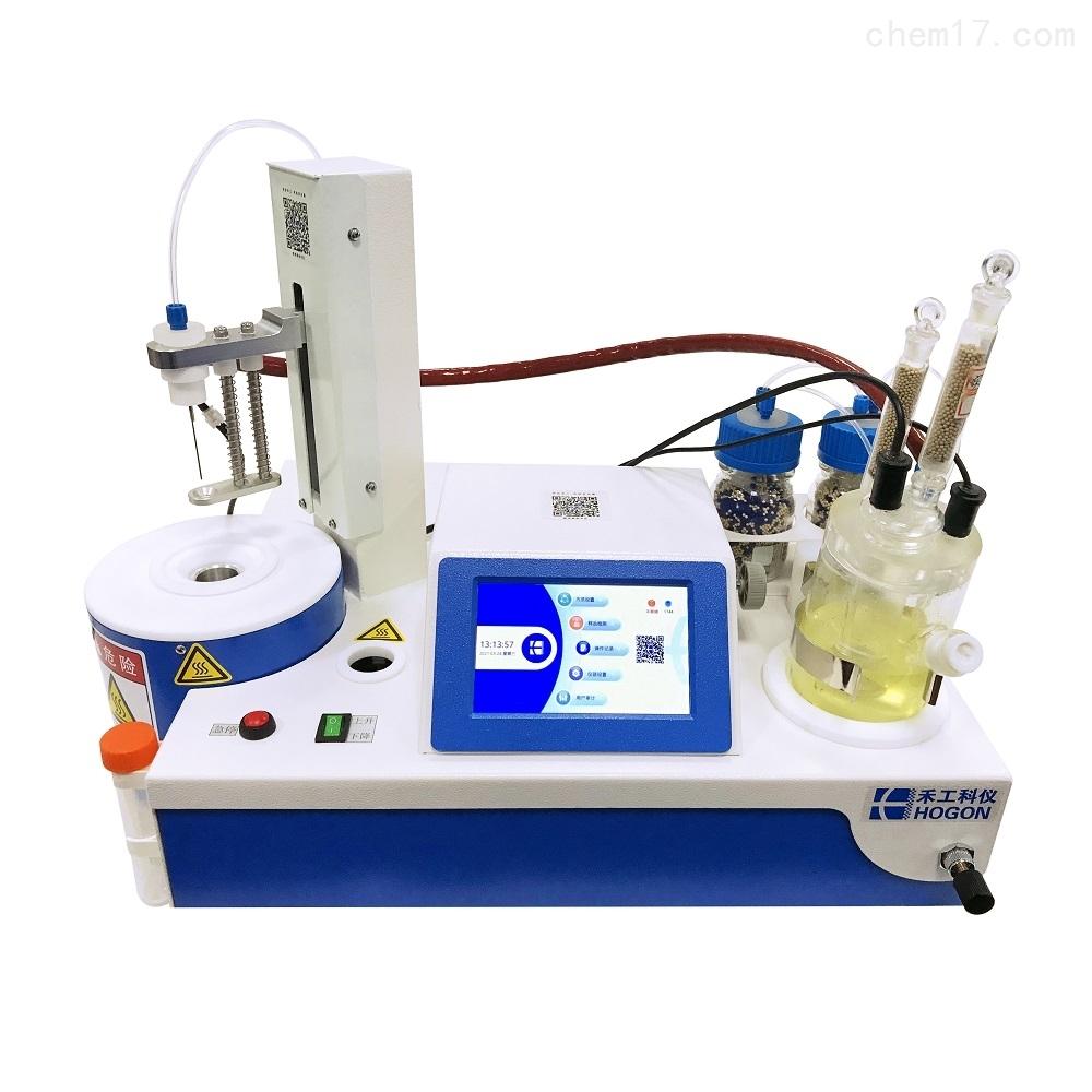 禾工科仪 AKF-CH6一体式库仑法卡尔费休水分测定仪