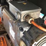 二天修复钻铣中心西门子828D主轴电机接地
