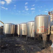 二手60吨镜面50吨不锈钢储罐销售出售