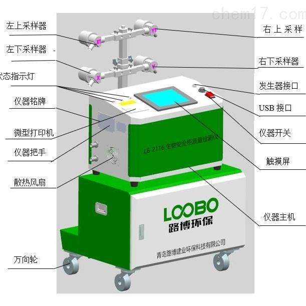 青岛生物安全柜质量检测仪
