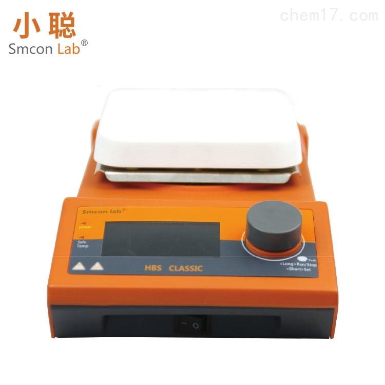 单磁力加热搅拌器五寸陶瓷方盘