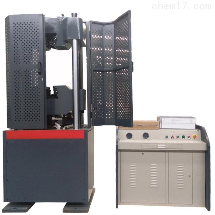 微机屏显示液压万能试验机四立柱两丝杠