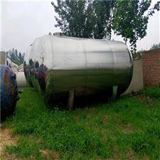 二手60吨镜面不锈钢储罐