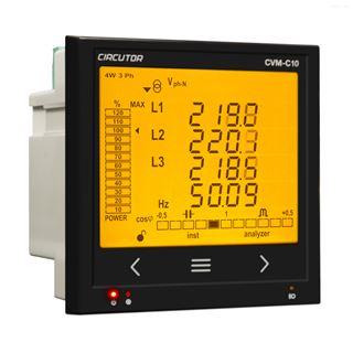 CVM-C10-ITF西班牙Circutor电能质量分析仪CVM-C10