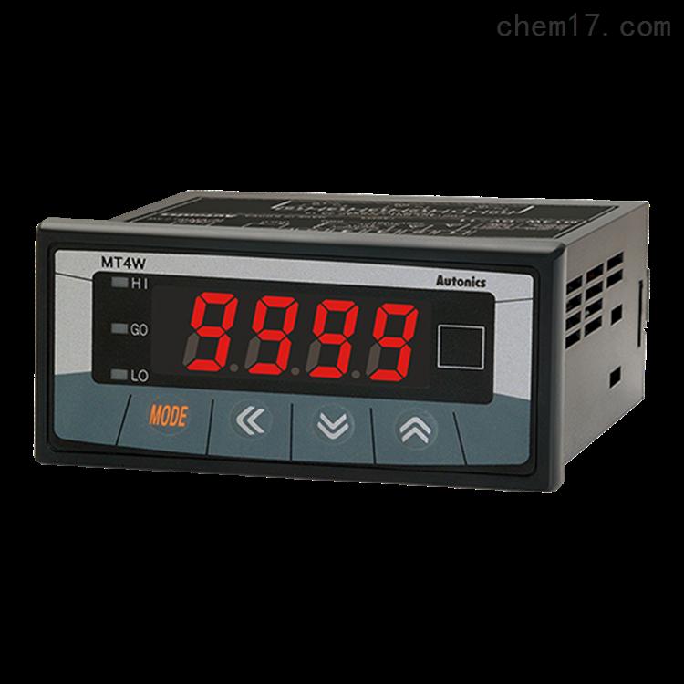 奥托尼克斯MT4W-DV-10多功能电压电流面板表
