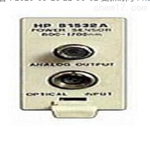 81532A光功率计模块安捷伦Agilent传感插件