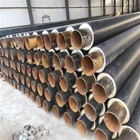 聚氨酯直埋蒸汽螺旋保温钢管