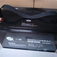 三瑞SENRY蓄电池6FM100-X 12V100AH技术参数
